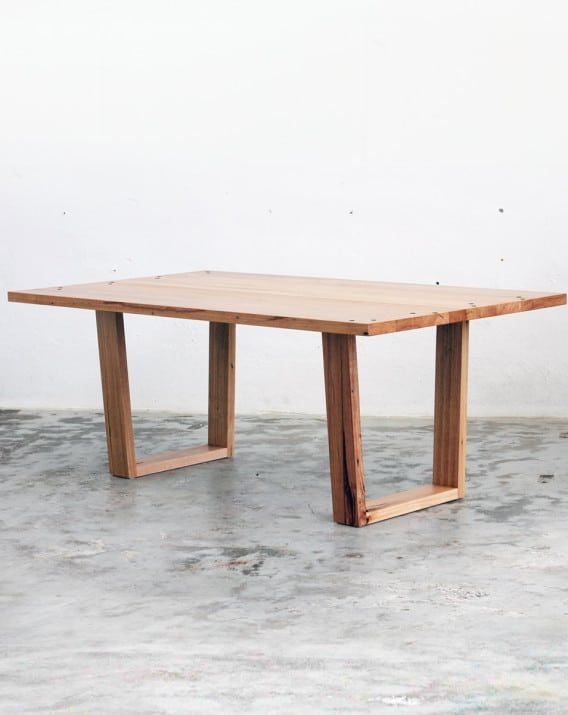 Stanley Table - Recycled Timber Furniture Melbourne, Yard Furniture