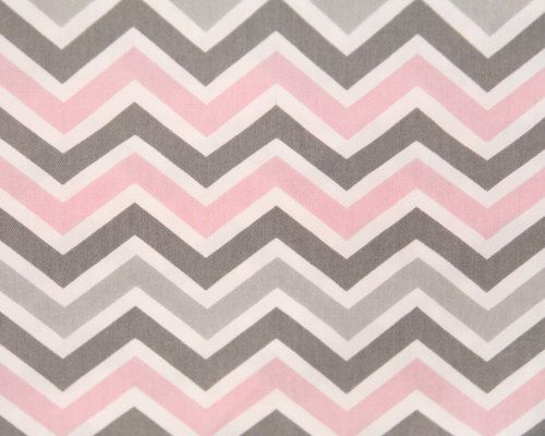 MEMORIAL DAY SALE  Pink & Grey Chevron print  Premier by FabricHQ, $4.99 @Stephanie Starcher