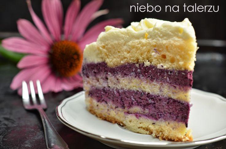 niebo na talerzu: Tort jagodowy