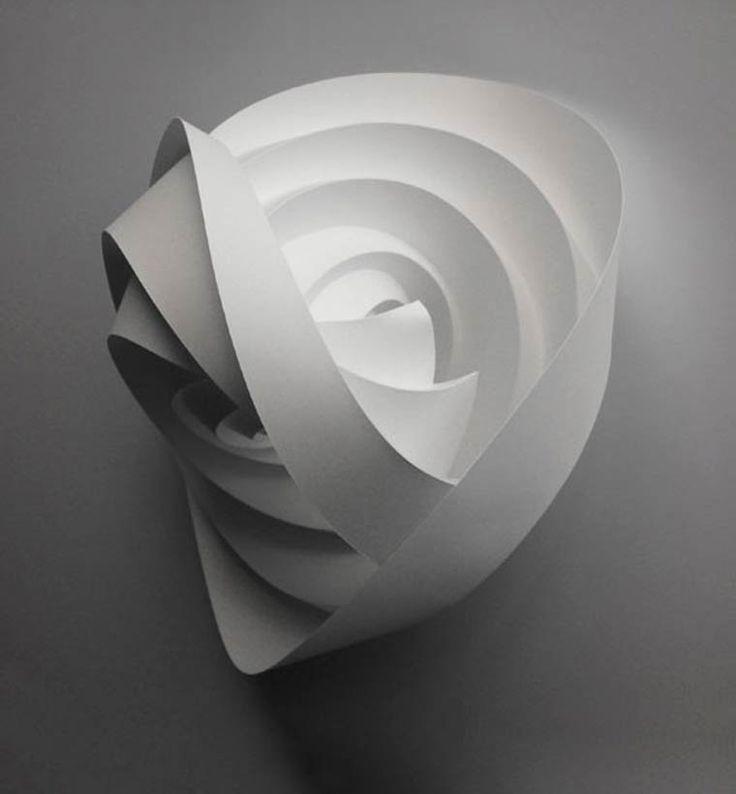 Geometric Paper Art – Les délicates créations en papier de Matt Shlian