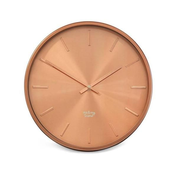Me & My Trend Copper Clock (30cm) | Koop.co.nz