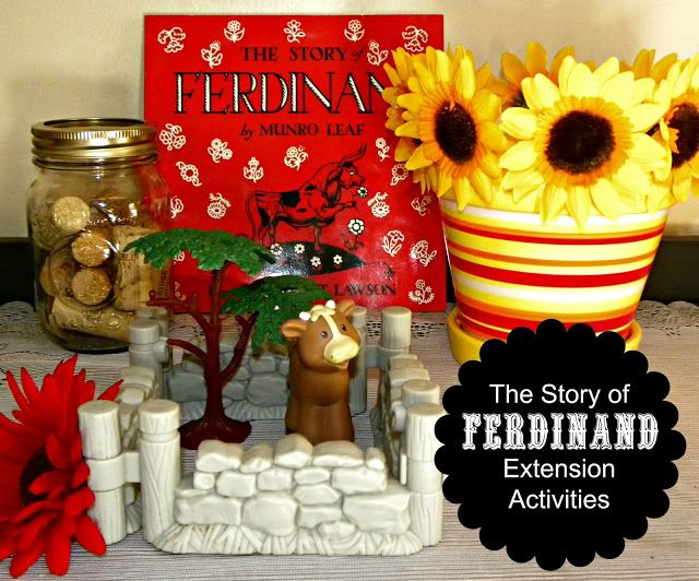 The Grace-Filled Home: The Story of Ferdinand {Literature Study}