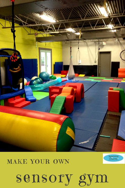 Make Your Own Sensory Gym Occupational Therapy Sensory