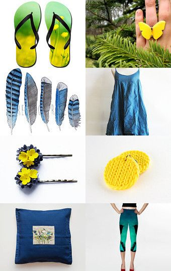 Summer is coming.... by guna buda on Etsy--Pinned with TreasuryPin.com #sunny #summer #yellow