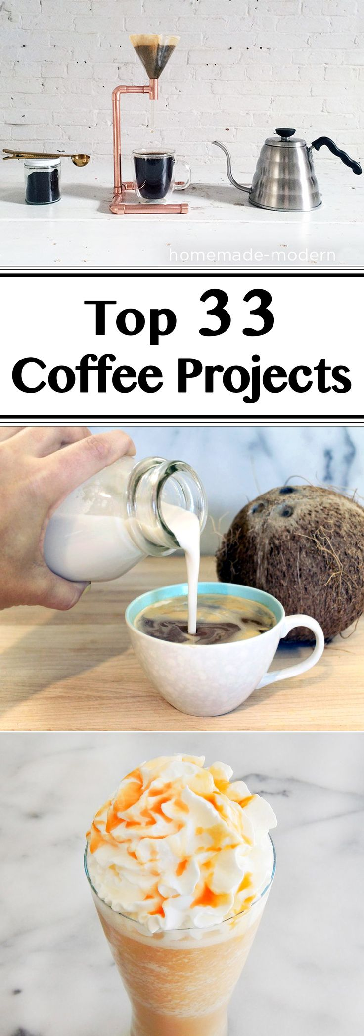 There sure are a lot of coffee lovers out there. So for all you caffeine fiends, here's a collection of the best coffee projects on Instructables.