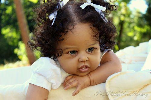 Prototype Aa Reborn Toddler Doll Violet By Jannie De Lange