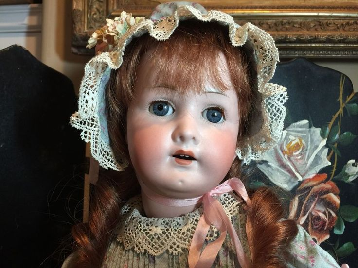 "Lovely 24"" Antique Bisque Doll"