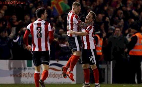 Lincoln City and Sutton United spring FA Cup surprises, Crystal Palace win