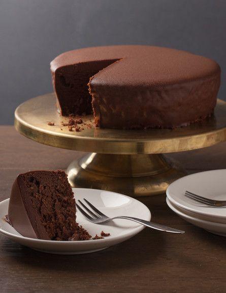 עוגת שוקולד בייקרי (צילום: עידית בן עוליאל ,בייקרי)