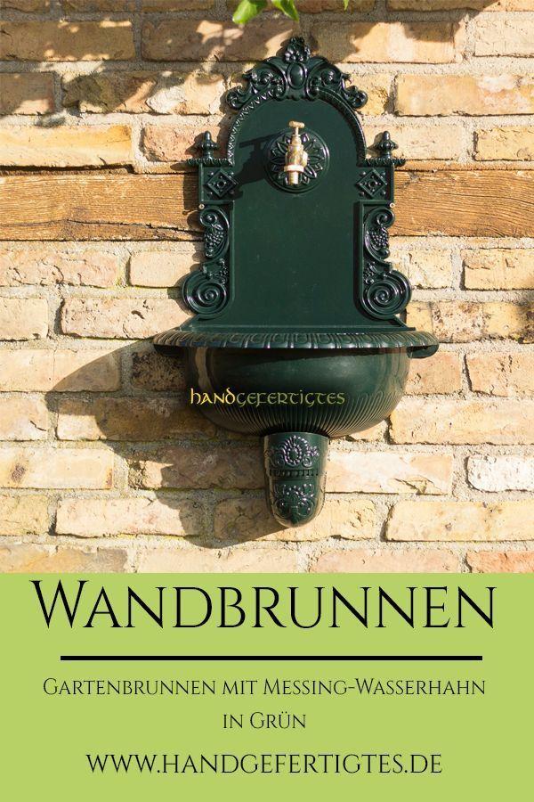 Wandbrunnen Mit Schlauchanschluss Gartenbrunnen Waschbecken Zapfstelle Wandbrunnen Gartenbrunnen Wasserhahn Garten