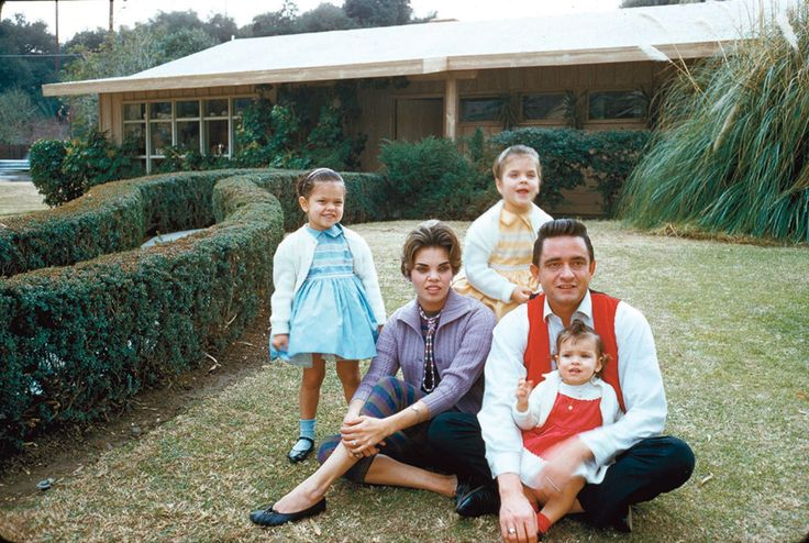 Cash, Vivian, and three of their daughters outside their Los Angeles home - Posted by Gabriel Lorden on 500px