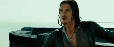 Will Turner (gif) I just can't stop watching it....nor laughing.
