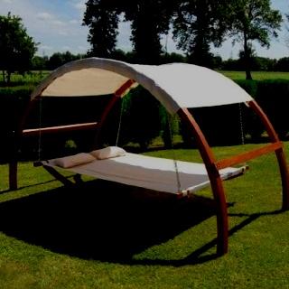 From trampoline frame