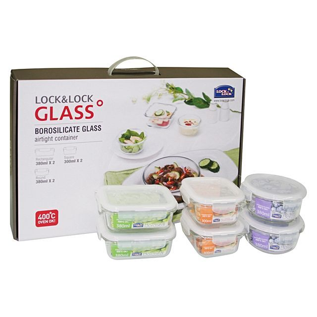 Lock and Lock food container set