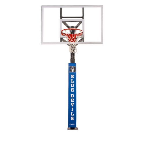 Goalsetter Duke University Wraparound Basketball Pole Pad Black - Basketball Accessories at Academy Sports