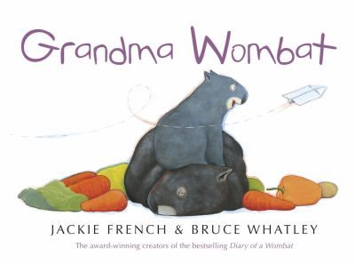 """""""Another Wombat picture book - this time about more senior members of the species. It is said that becoming a grandparent is one of life's greatest joys, and Mothball certainly enjoys the pleasure of looking after the adorable new baby wombat. But like all new babies, this little fellow is so active ...and curious ...He sure does get up to all sorts of mischief, which is pretty hard on a granny who does love to eat, sleep and scratch."""