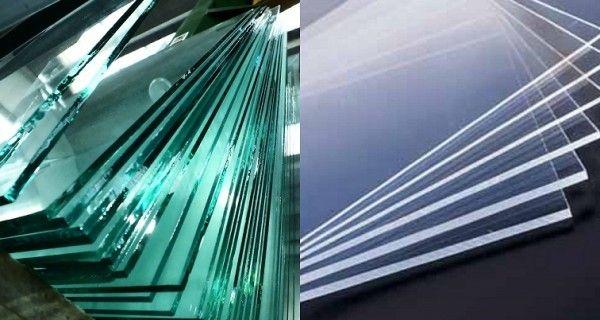 #plexiglass o #vetro? Piccoli #consigli per una #scelta vincente! #materialedesign