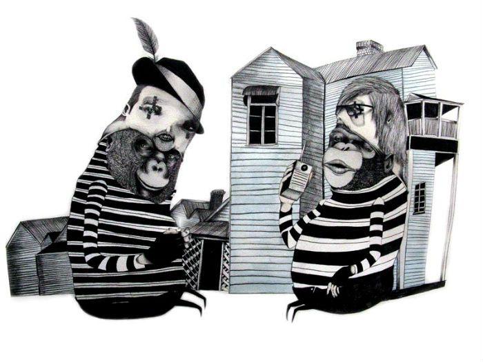 Путешествие в никуда: оригинальные иллюстрации австралийского художника. (4 фото)   Джастин Ли Уильямс (Justin Lee Williams) – австралийский художник и иллюстратор, способный, кажется, заинтриговать любого. Уильямс предлагает зрителю новое художественное пространство – новый мир, символичный и немного пугающий.   Читать всё: http://avivas.ru/topic/puteshestvie_v_nikuda_originalnie_illystracii_avstraliiskogo_hudojnika.html