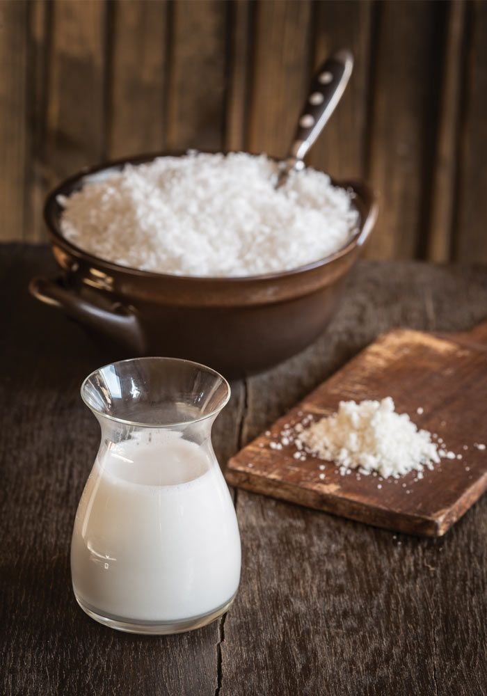 coconut milk and flour recipe from jedzeniestygnie.pl