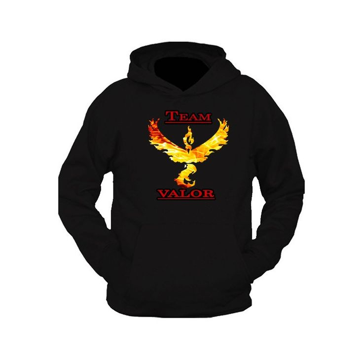 Pokemon Go Team Valor: Fire Hooded Sweatshirt