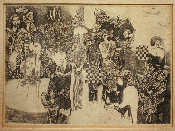 ZUZANY, lept / SUSANS, etching