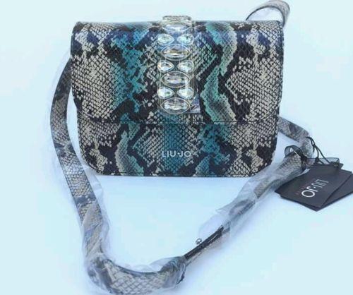 Handbags-shopping-LIU-JO-linea-strass-col-Ocean-Wave-rettile #handbags #bestprice #borse #donna #superprezzi #saldi #sale #borsescontate #liujo