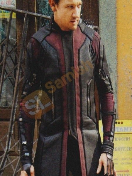 Desert Leather Presents Exclusive Jeremy Renner Avengers Hawkeye Coat for Men Worn by Jeremy Renner in the movie Avengers: Age of Ultron We Made this great Coat Jacket With High Quality Synthetic Leather Available in Discounted Price at Samish Leather Online Shop,