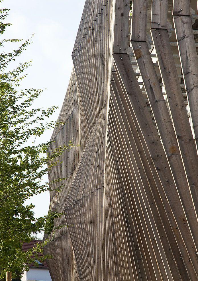 JACQUES FERRIER ARCHITECTURES. Car ParksWood ArchitectureFacadesWorkshop BuildingsBalconyProject