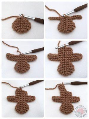 Gingerbread Man Free Crochet Pattern