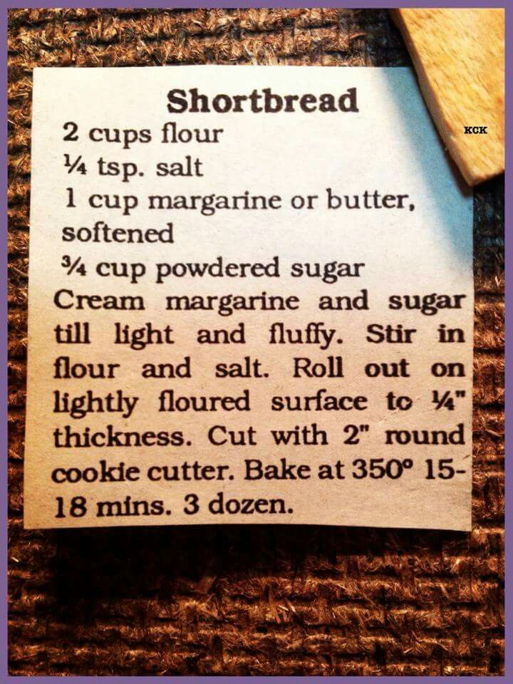 Shortbread Cookies                                                                                                                                                      More