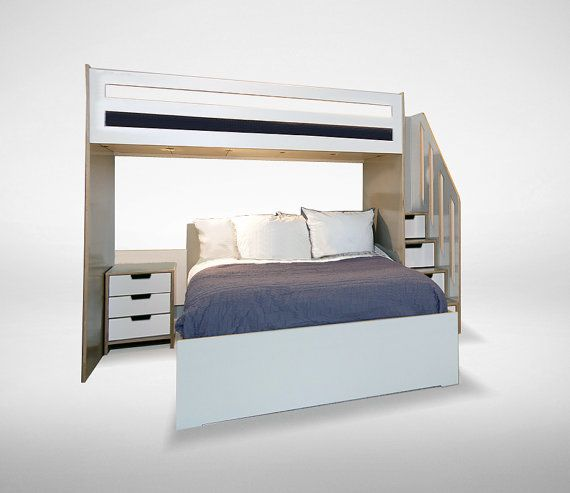 1000 ideas about l shaped bunk beds on pinterest bunk for L shaped bed plans
