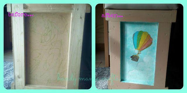 Ξύλινα κουτιά που έγιναν σκαμπό - αποθηκευτικός χώρος!!