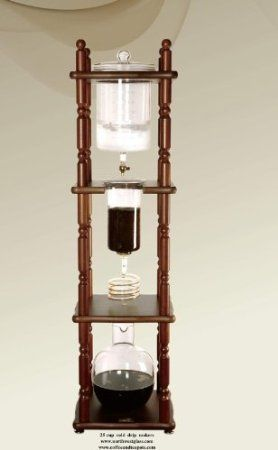 Some day, my kitchen will look like an apothecary, and I will own this cold drip coffee and tea maker