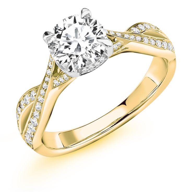 Claw Set 1.30ct Round Brilliant Cut Diamond Ring | Reppin & Jones Jewellers