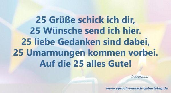 25 Geburtstag Mann Einladung 25 Geburtstag Mann Spruche Zum