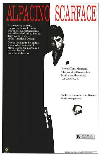 One of my favorite films from 1983 the fantastic #scarface starring #alpacino and directed by #BrianDePalma