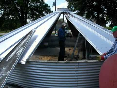 How to Disassemble a Grain Bin: Picture Tutorial ...