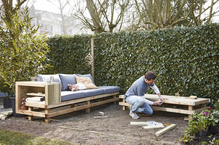 81 best tuin inspiratie praxis images on pinterest for Moderne loungebank tuin