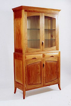 Elegant Jamaica Plain China Cabinet