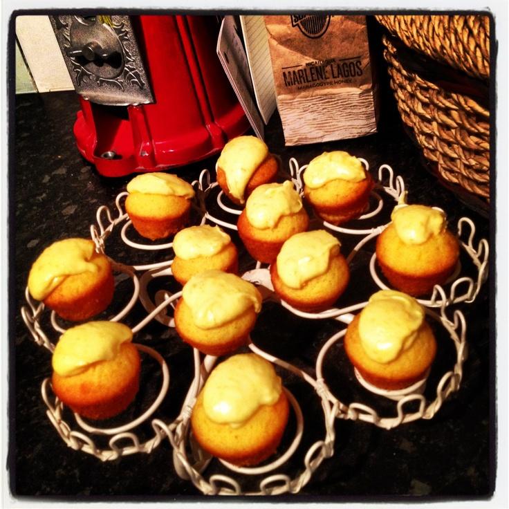 Orange Messy Cupcakes