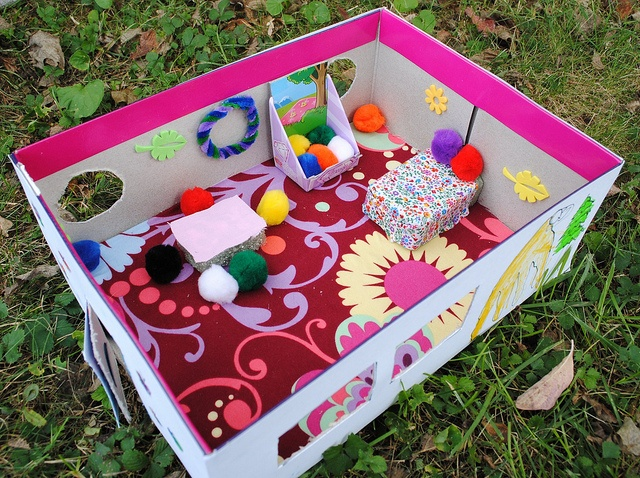30 Shoe Box Craft Ideas: Kids Dream Bedroom In A Shoe Box