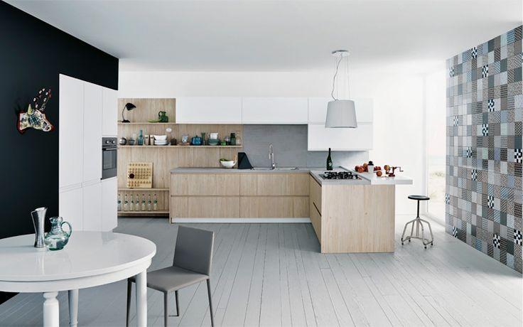 new mila kitchencesar:sharp and minimalist lines | arch