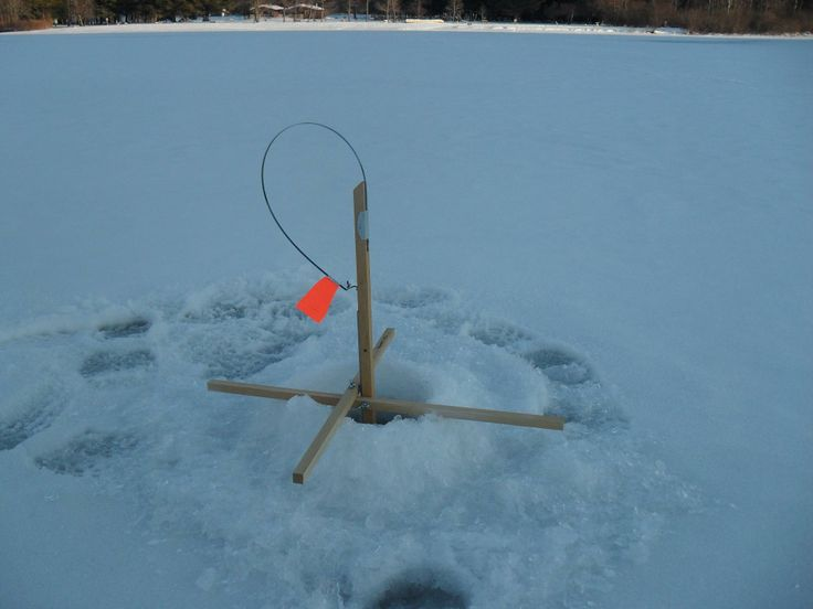 Tip up ice fishing vermont pinterest for Tip up fishing