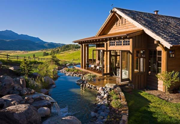 How do you want your dream house to look like girlsaskguys for Homes in the mountains
