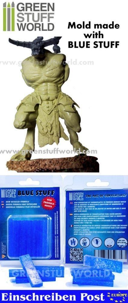 Blau Stuff - 8 - Sofort Abformmasse Wiederverwendbar - Verbessern Intant Mold