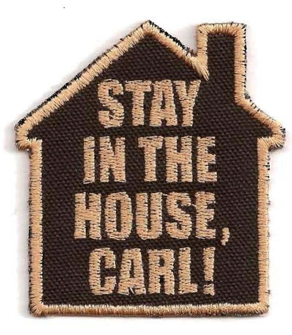 Walking Dead Stay in the House Carl Patch by StoriedThreads, $7.00