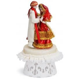 Shy Bride Indian Cake Topper