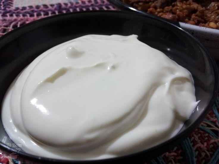 Sour Cream - Molho azedinho,  perfeito para acompanhar chilli, burritos, tacos, batatas assadas (inclusive tipo baked potato).