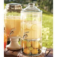 A classy drink dispenser and recipes to go with it… Beat the heat! | barbara stroud