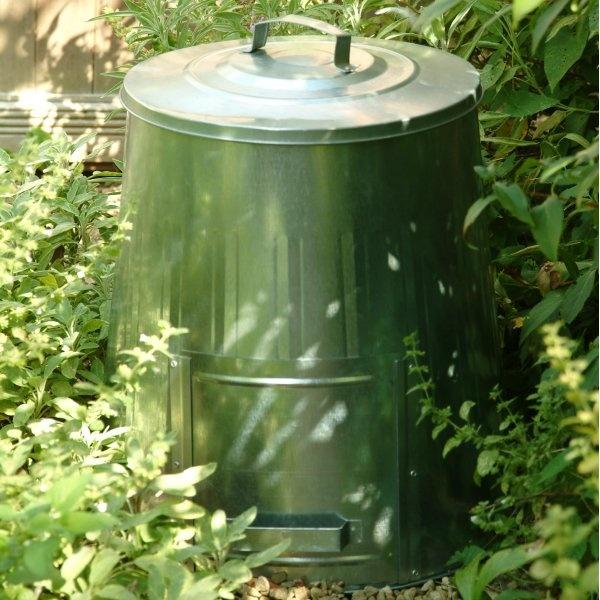 Compost Bin For Small Garden Green Thumb Pinterest